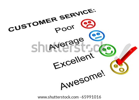 Customer Service Feedback Form Showing Awesome Stock Illustration - service feedback form