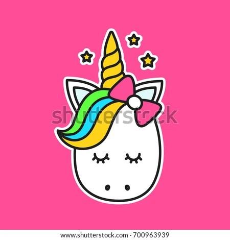 Cute Llamacorn Wallpaper Cute Unicorn Facevector Cartoon Character