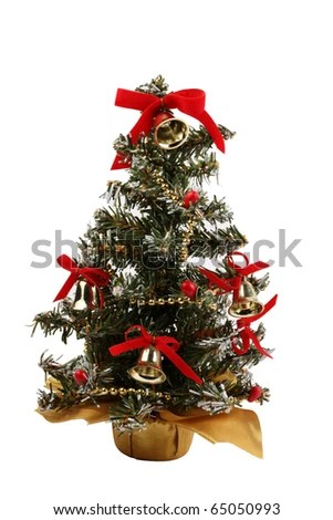 Mini Christmas Trees Stock Images, Royalty-Free Images \ Vectors - small decorated christmas trees