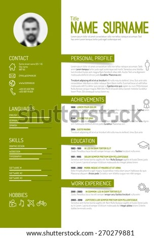 Resume Format Vector Good Resume Examples Rtvroto Cv Stock Images Royalty Free Images And Vectors Shutterstock