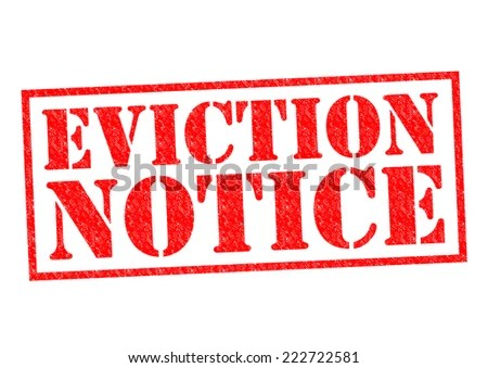 Eviction Notice Stock Images, Royalty-Free Images \ Vectors - eviction notice