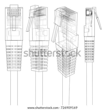 cat6 wire diagram for rj45 connector