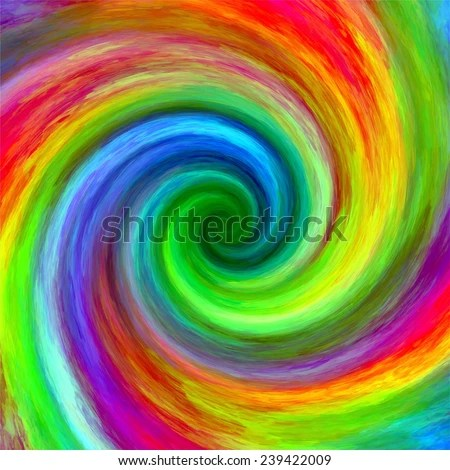Iphone 7 Blob Wallpaper Abstract Art Swirl Rainbow Grunge Colorful Stock