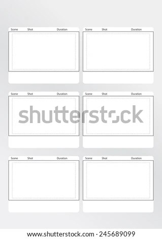 film storyboard plainresume - vertical storyboard