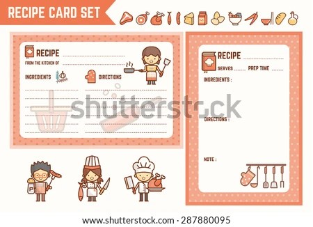 Recipe Card Stock Images, Royalty-Free Images \ Vectors Shutterstock - recipe card