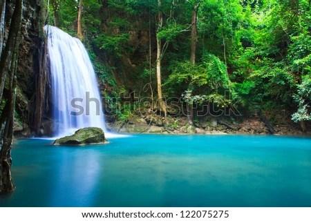 Panoramic Wallpaper Fall Waterfall Stock Images Royalty Free Images Amp Vectors