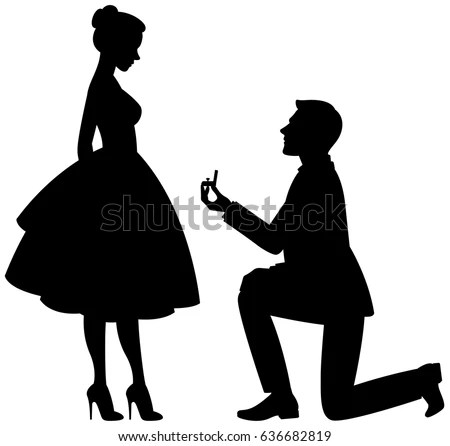 Girl Proposes To Boyfriend Wallpaper Man Proposing To Woman Stock Images Royalty Free Images