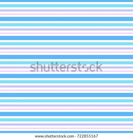 Horizontal Stripes Seamless Pattern Vector Background Stock Vector