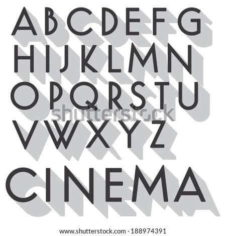 Vintage Movie Poster Font - veraciousinfo