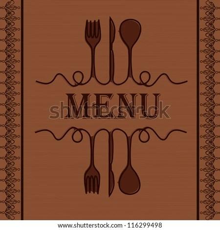 Sample Menu Restaurant Stock Photo (Photo, Vector, Illustration