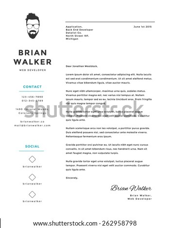 creative cover letter - Ozilalmanoof