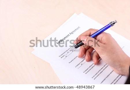 Careful Signing Employment Contract cvfreepro