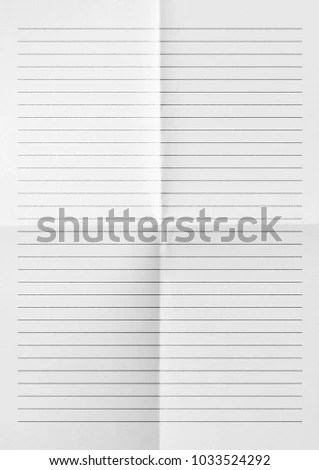 White Paper Lines Notepad Blank Sheet Stock Photo (100 Legal - blank sheet of paper with lines