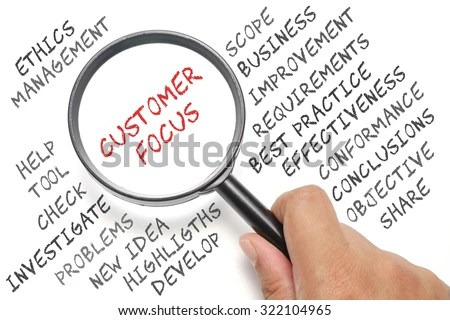 Audit Business Conceptual Focusing On Customer Stock Photo (Safe to