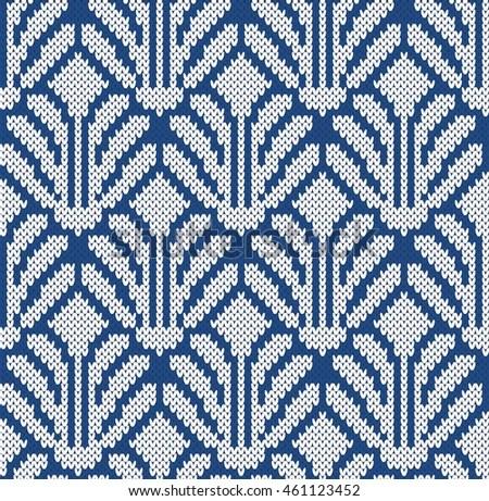 Free Wallpaper Fall Colours Seamless Pattern Tribal Art Ikat Ogee Stock Vector