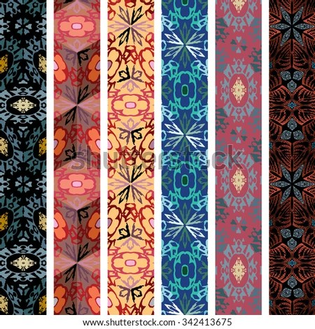 Decorative Vertical Designs Stock Vector 342413675 - Shutterstock - vertical designs