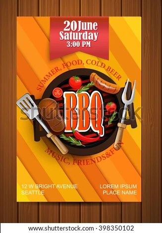Bbq Flyer bbq party flyer vector free download bbq flyer bbq - bbq flyer