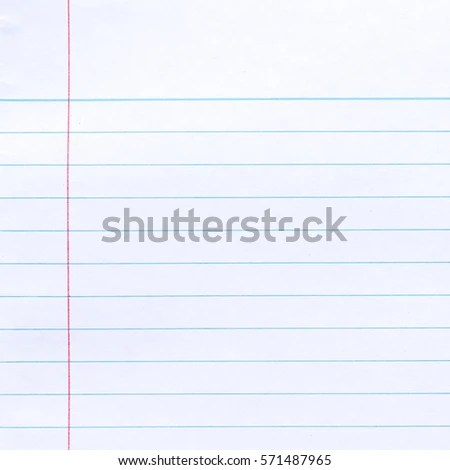 Notebook Lined Paper Background Stock Photo  Image (Royalty-Free - line paper background