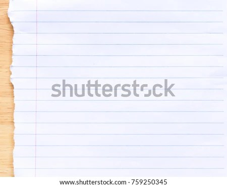 Notebook Lined Paper Background Stock Photo (Royalty Free) 759250345 - line paper background