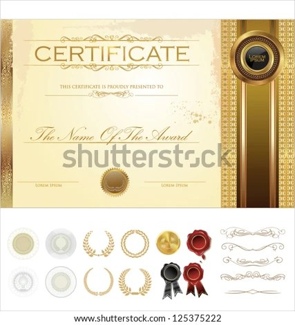Image from http\/\/thumb9shutterstock\/display_pic_with_logo - blank certificates templates free download