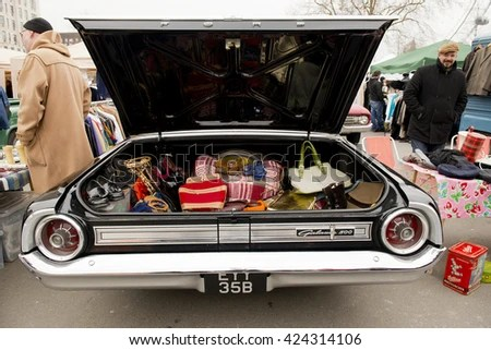 Car Boot Open Stock Images Royalty Free Images Vectors
