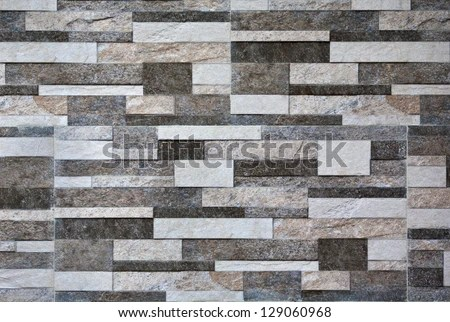 3d Brick Wallpaper Philippines Modern Marble Stone Wall Background Texture Stock Photo