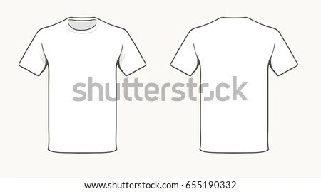 Shirt Template Stock Images, Royalty-Free Images \ Vectors - t shirt template