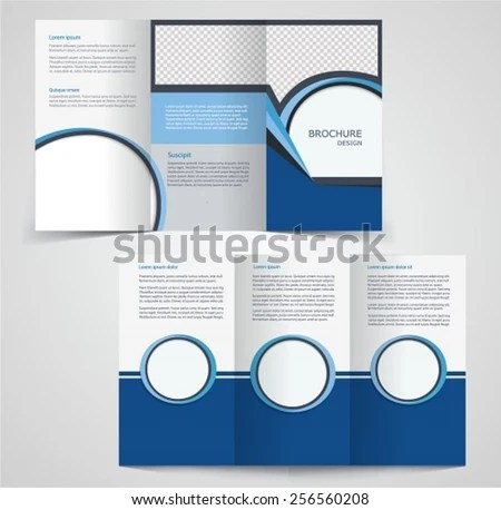 Business Brochure Examples Two Sided