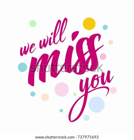 Farewell Card All Best Template Stock Photo (Photo, Vector