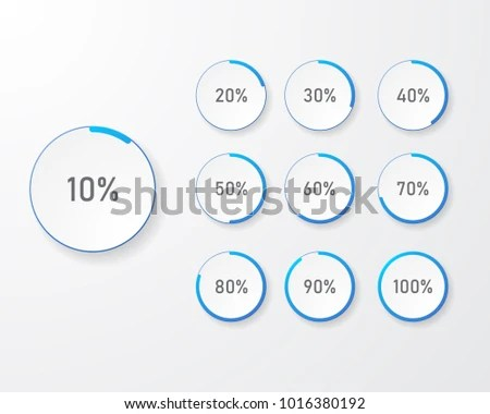 Infographic Pie Chart Templates Can Be Stock Vector 1016380192
