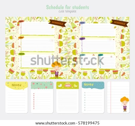 weekly schedule template for kids - Apmayssconstruction