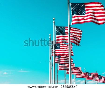American Flag Stock Photo 629917 - Shutterstock