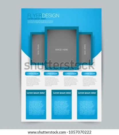 Flyer Template Design Business Education Advertisement Stock Vector - advertisement flyer template
