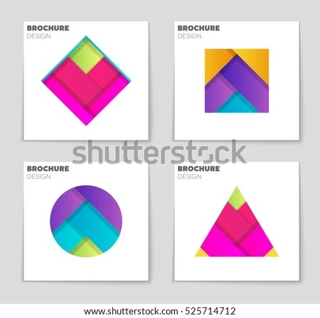 Abstract Vector Layout Background Set Art Stock Vector 558506092 - blank sign in sheet