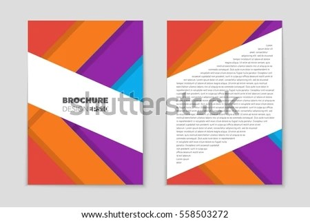 Abstract Vector Layout Background Set Art Stock Vector 535032754 - blank sign in sheet