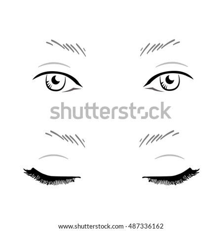Face Chart Stock Images, Royalty-Free Images \ Vectors Shutterstock - eye chart template