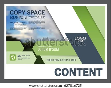 manual cover page template – Annual Report Cover Page Template