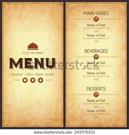 Wayfarer Restaurant Stone Menu SEMA Data Co-op
