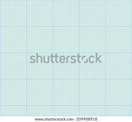 Math Concept Sheet Blue Graph Paper Stock Vector HD (Royalty Free - math graph paper