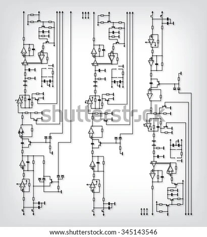 vector wiring diagram wiring diagram stock images royalty images
