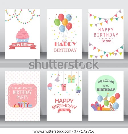 Birthday Card Stock Images, Royalty-Free Images \ Vectors - birthday card layout