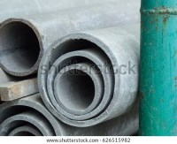 Asbestos Cement Pipe Water Stock Photo 626515982 ...