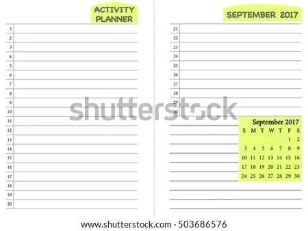 June 2017 Calendar Template Monthly Planner Imagem Vetorial De - daily routine chart template