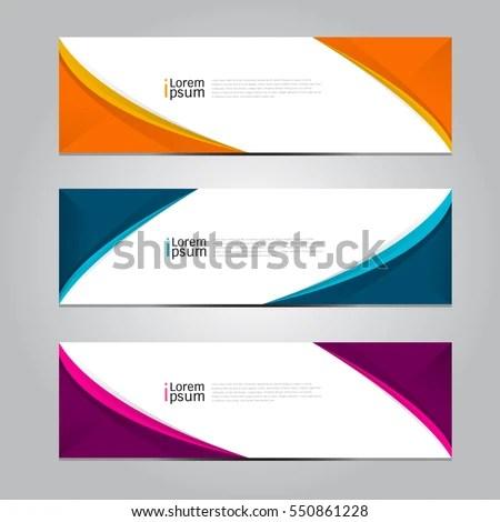 Vector Design Banner Background Stock Vector 550861228 - Shutterstock