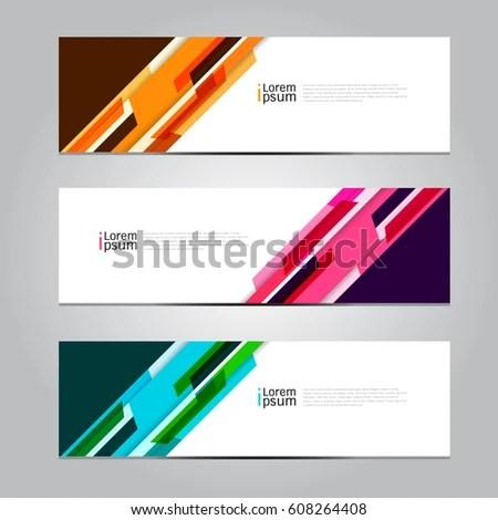 Vector Design Banner Background Stock Photo (Photo, Vector