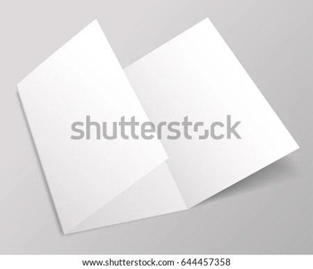 Blank Brochure Template Vector Illustration Stock Vector HD (Royalty