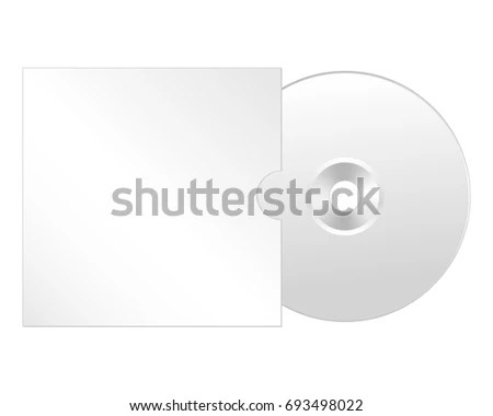 Cd Dvd Isolated Icon Compact Disc Stock Illustration 693498022