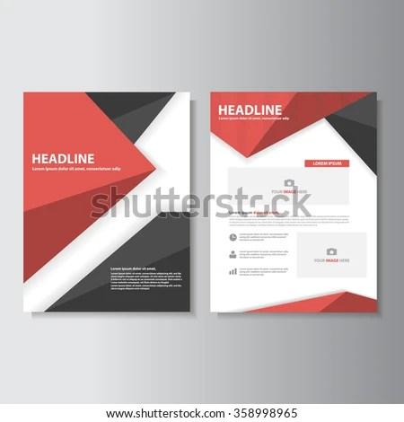 Blue Brochure A 4 Flyer Leaflet Template Stock Vector HD (Royalty - leaflet template