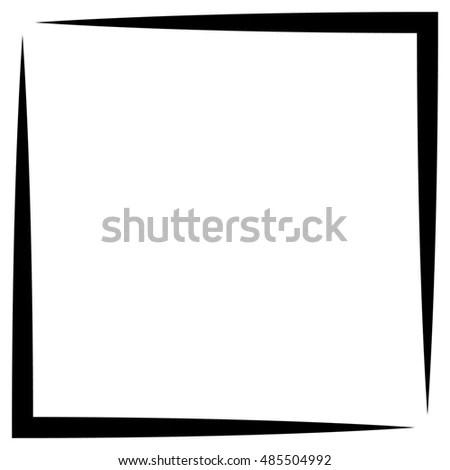 Square Format Photo Frame Photo Border Stock Illustration 485504992