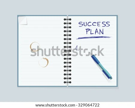 Lined Paper Notebook Coffee Mug Stains Stock Vector 329064722 - editable lined paper